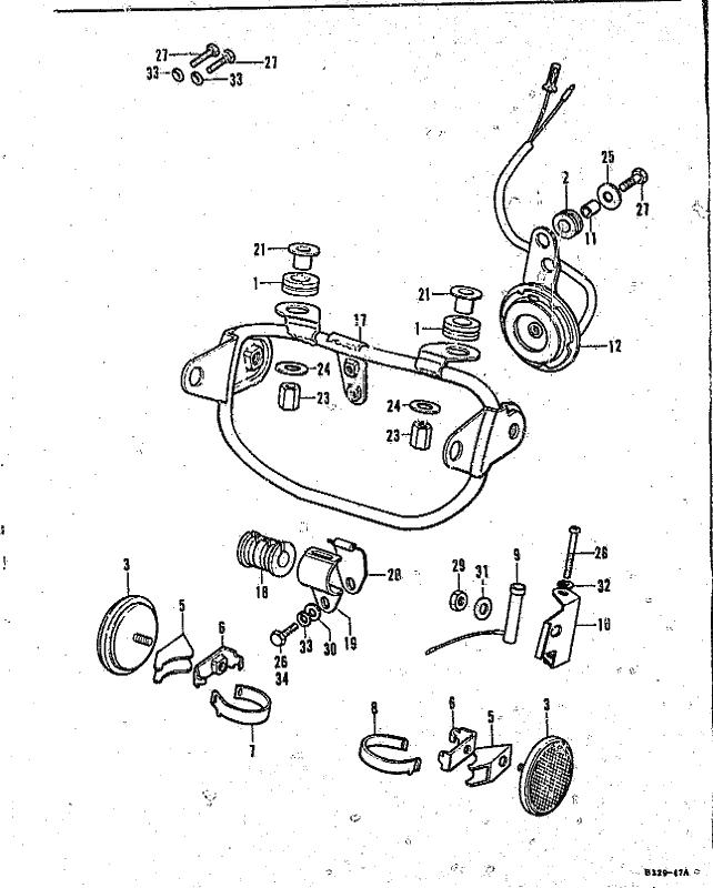 Headlight Wiring Diagram 1972 Honda Xl250